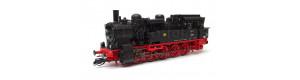 Parní lokomotiva řady 94.5, DR, s Riggenbachovou brzdou, III. epocha, TT, Kuehn 31912