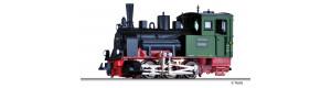 """Úzkorozchodná parní lokomotiva č. 1 """"Neustadt"""", NKB, III. epocha, H0m, Tillig 02913"""