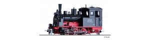 Úzkorozchodná parní lokomotiva 99 4734, DR, III. epocha, H0e, Tillig 02995