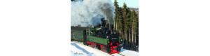 Úzkorozchodná parní lokomotiva 99 5902-4, HSB, V. epocha, H0e, Tillig 05821