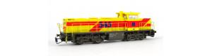 Motorová lokomotiva G 1206 EH, VI. epocha, TT, PIKO 47220