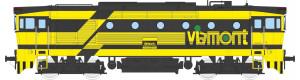 Motorová lokomotiva řady 750, Viamont, V. epocha, TT, Kuehn 33362