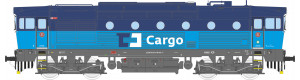 Motorová lokomotiva řady 753, ČD Cargo, VI.  epocha, TT, Kuehn 33364