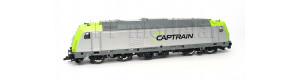Motorová lokomotiva 285 119-4, Captrain Deutschland GmbH, VI. epocha, TT, Tillig 05031