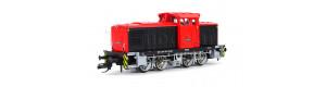 Motorová lokomotiva 345 029-3, Erfurter Bahn Service GmbH, VI. epocha, TT, DOPRODEJ, Tillig 96153