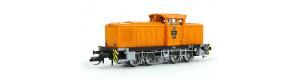 Motorová lokomotiva V 60 D, vlečková lokomotiva č. 73, VEB Chemische Werke Buna, IV. epocha, TT, Tillig 96324