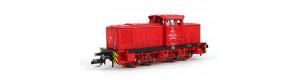 Motorová lokomotiva V 60 D, vlečková lokomotiva 02, PBSV-Verkehrs-GmbH, V. epocha, TT, Tillig 96325
