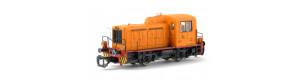 """Motorová lokomotiva TGK2 """"Kaluga"""", zvuková verze, IV. epocha, TT, Piko 47521"""