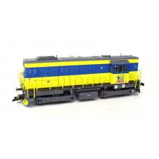 Motorová lokomotiva řady 740, OKD Doprava a.s., V. epocha, TT, Tillig 02764