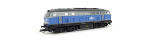 Motorová lokomotiva 225 002-5, Eisenbahngesellschaft Potsdam mbH, VI. epocha, TT, Tillig 02724