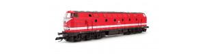 Motorová lokomotiva řady 229, DR, V. epocha, TT, Tillig 02795