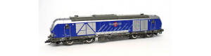 """Motorová lokomotiva řady 247 Vectron, výroční model """"25 let Tillig"""", VI. epocha, TT, Tillig 501876"""