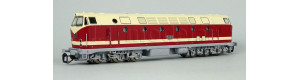 Motorová lokomotiva řady 119, vrchní reflektor, DR, IV. epocha, TT, Piko 47347
