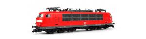Elektrická lokomotiva řady 103, dlouhá verze, verkehrsrot, DB, V. epocha, jednorázová série, TT, Kuehn 32576