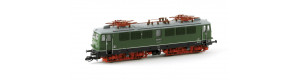 Elektrická lokomotiva řady 211, DR, 6 větracích mřížek, zelená, IV. epocha, TT, Kuehn 31634