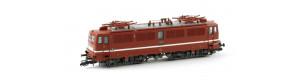Elektrická lokomotiva řady 242, DR, 4 větrací mřížky, červená, IV. epocha, TT, Kuehn 31722