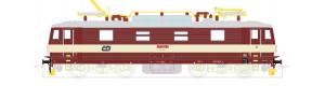 Elektrická lokomotiva řady 371, červená/bílá, ČD, V. epocha, TT, Kuehn 32934
