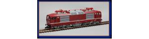 Elektrická lokomotiva řady 180, červená, DR, V. epocha, N, Kuehn 95010