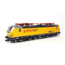 Elektrická lokomotiva řady 193 Vectron, RegioJet, se 4 sběrači, VI. epocha, TT, Tillig 04821