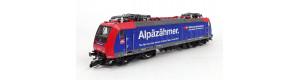 """Elektrická lokomotiva řady 485 """"Alpenzähner"""", SBB Cargo, 4 sběrače, V. epocha, TT, Kuehn 32302"""