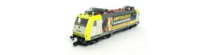 Elektrická lokomotiva řady 185 Captrain, 4 sběrače, V. epocha, TT, Kuehn 32304