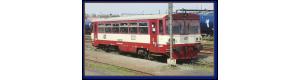 Motorový vůz řady 810, ČD, červená/krémová, V. epocha, TT, Kuehn 33712