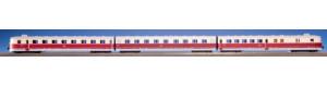 """Motorová jednotka SVT 137 """"Köln"""", DR, IV. epocha, nové provozní číslo, zvuková verze, TT, Kres 1376DS"""