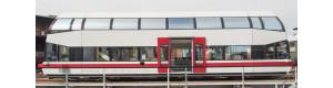 Patrový motorový vůz BR 670, Schienenbusreisen Köstner, digital, V.–VI. epocha, H0, Kres 67020D