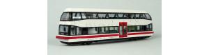 """Patrový motorový vůz BR 670, """"Schienenbusreisen Köstner"""", V.-VI. epocha, TT, Kres 6702"""