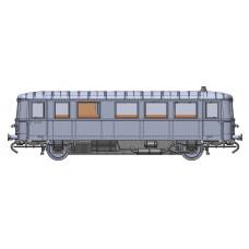 Motorový vůz VT 70 970 'Hydronalium', DB, analog, III. epcoha, N, Kres N13501