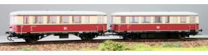 Motorová jednotka VT 135 062 + VB 140 312, DR, DCC, III. epocha, TT, Kres 1351401D