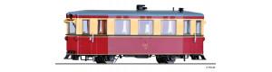 Úzkorozchodný motorový vůz T1, Gernrode-Harzgeroder Eisenbahn, II. epocha, H0m, Tillig 02944