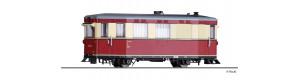"""Úzkorozchodný motorový vůz 187 001-3, """"Hilfsgerätewagen"""", DR, IV. epocha, H0e, Tillig 02955"""