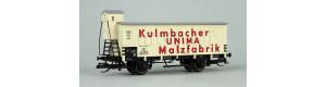 "Izotermický vůz ""UNIMA-Malzfabrik Kulmbach"", DB, III. epocha, TT, Tillig 17391"