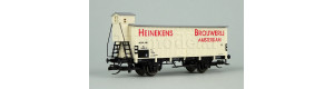 "Chladicí vůz ""Heinekens Brouwerij Amsterdam"", NS, III. epocha, TT, Tillig 17395"