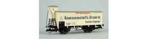 "Izotermický vůz ""I. Württemb. Genossenschafts-Brauerei"", K.W.St.E., I. epocha, TT, Tillig 17923"