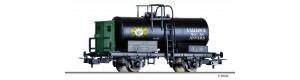 """Kotlový vůz, """"BP"""", SNCB, II. epocha, H0, Tillig 76795"""