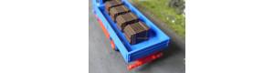 Dřevěná bedna, TT/H0, ES Pečky 65042