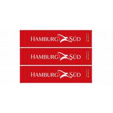 Set 40stopých kontejnerů Hamburg Süd, H0, IGRA MODEL 98010017