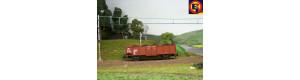 Náklad uhlí do vozu Es/Vtu/Ommu (Piko/Roco/Vacek), H0, ES Pečky 29606