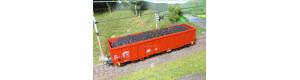 Náklad uhlí do vozu Eas (Roco), H0, ES Pečky 29623