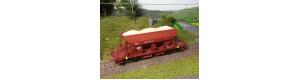 Náklad písku do vozu Faccs (ČS Train), H0, ES Pečky 29625