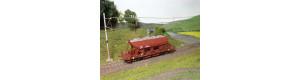 Náklad štěrku do vozu Faccs (ČS Train), H0, ES Pečky 29626