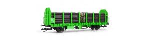 Klanicový vůz Laaps, s nákladem, DB AG, START, VI. epocha, TT, Tillig 502134-1