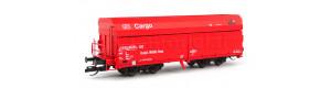 Samovýsypný vůz Falnqqs, DB Cargo/MIBRAG, V. epocha, TT, Tillig 15294-1