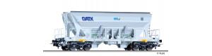Výsypný vůz Faccns, GATX/Nordic Rail Service/Basalt AG, VI. epocha, H0, Tillig 76743