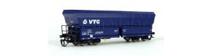 Samovýsypný vůz Falns VTG, modrý, nové provozní číslo, VI. epocha, TT, Piko 47740-2