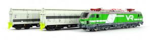 Set Loktransport, Rail Adventure, VI. epocha, TT, Tillig 01012