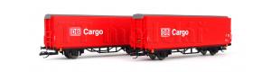 Jednotka vozů s posuvnými stěnami Hirrs-tt 325, DB Cargo, V. epocha, TT, Tillig 01028