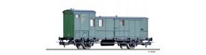 Zavazadlový vůz Pw, DB, III. epocha, H0, Tillig 76757